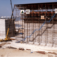 Various projects on gantry sliding formwork systems