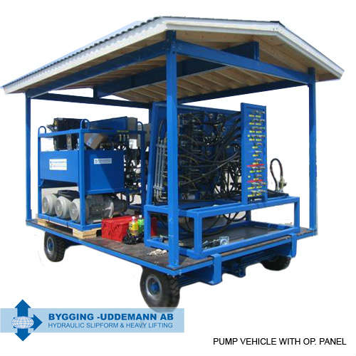 Transfer equipment- pump vehicle | Bygging Uddemann