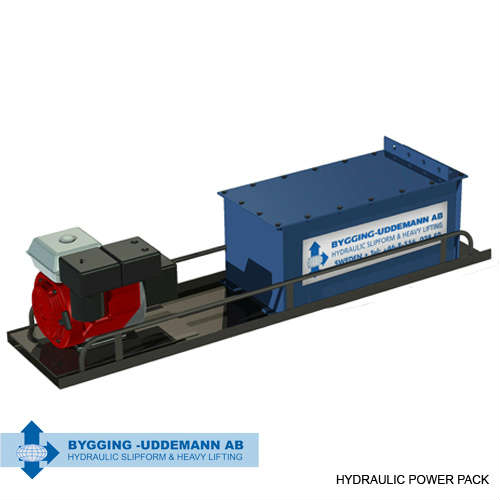 Hydraulic LRJME power pack | Bygging Uddemann