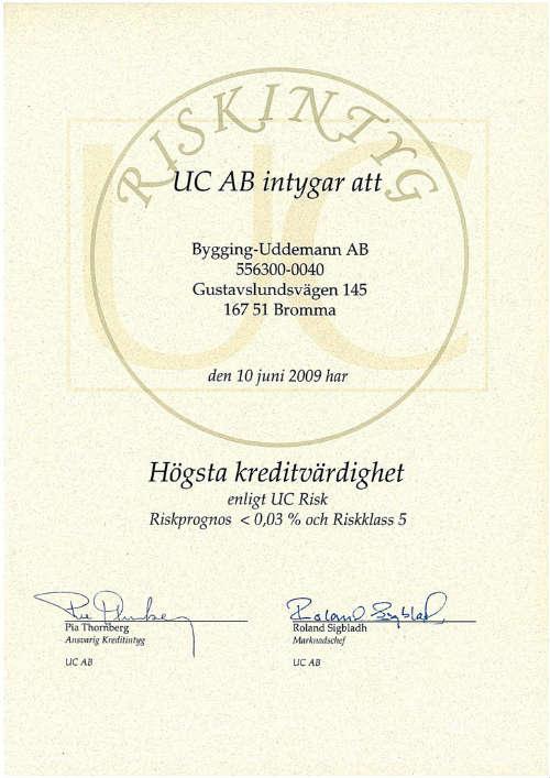 UC Diploma 2009