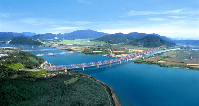 Bridge Launching - Nakdong, Korea