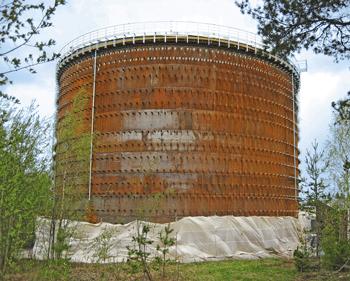 Accumolator Tank - Sundsvall, Sweden