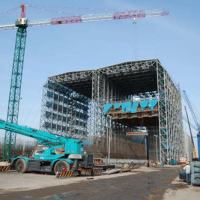 Gantry Slipform System method for safe lifting