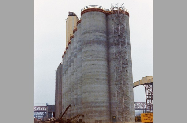 Grain Silo Terminal - Portland, Oregon, US.