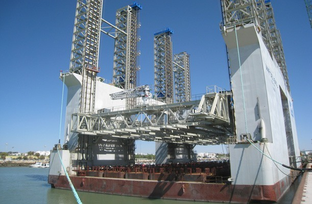 Gantry Slipform System for Caissons, Spain
