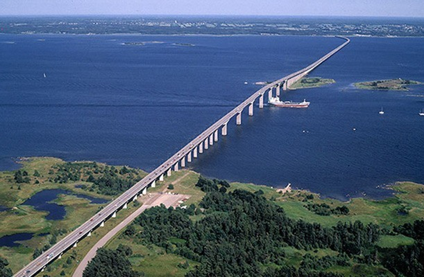 Lifting of Formwork, Bridge - Öland, Sweden