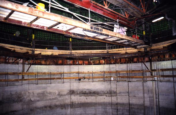 Lining of Shaft - Cern, Schweiz