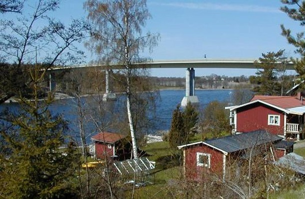 Bridge Launching - Trästabron, Sweden