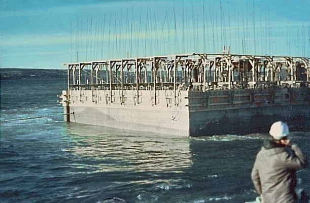 Caissons for Harbour - Halifax, Canada