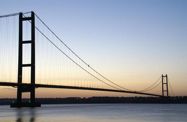 Humber Bridge - Kingston upon Hull, UK