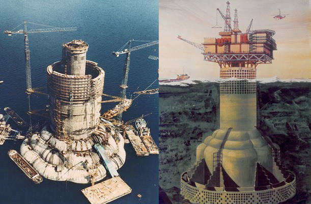 Oil Platform - Ninian Oil field, UK