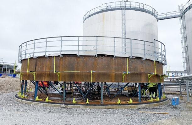 Steel Tank, Södertälje, Sweden