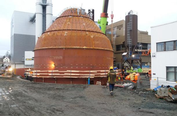 Accumulator Tank, Trondheim, Norway