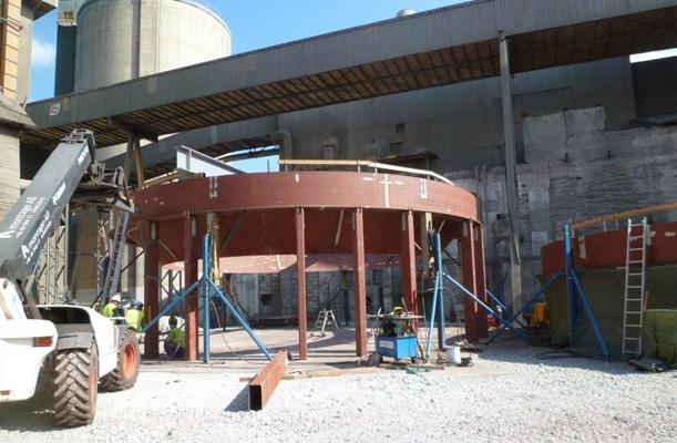 Storage silos - Slite, Gotland, Sweden